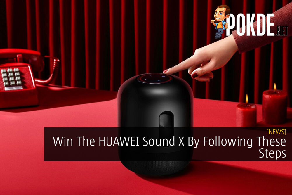 Win The HUAWEI Sound X By Following These Steps 22