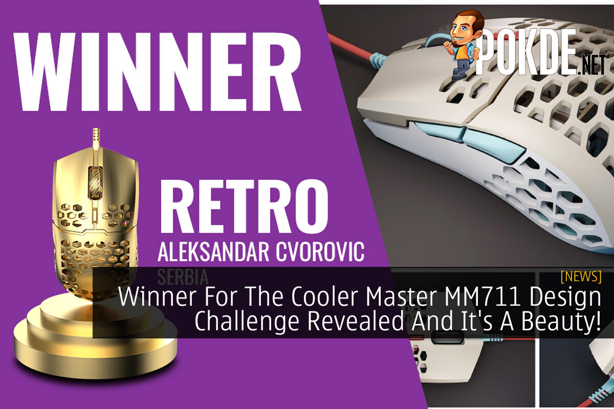 Winner For The Cooler Master MM711 Design Challenge Revealed And It's A Beauty! 5