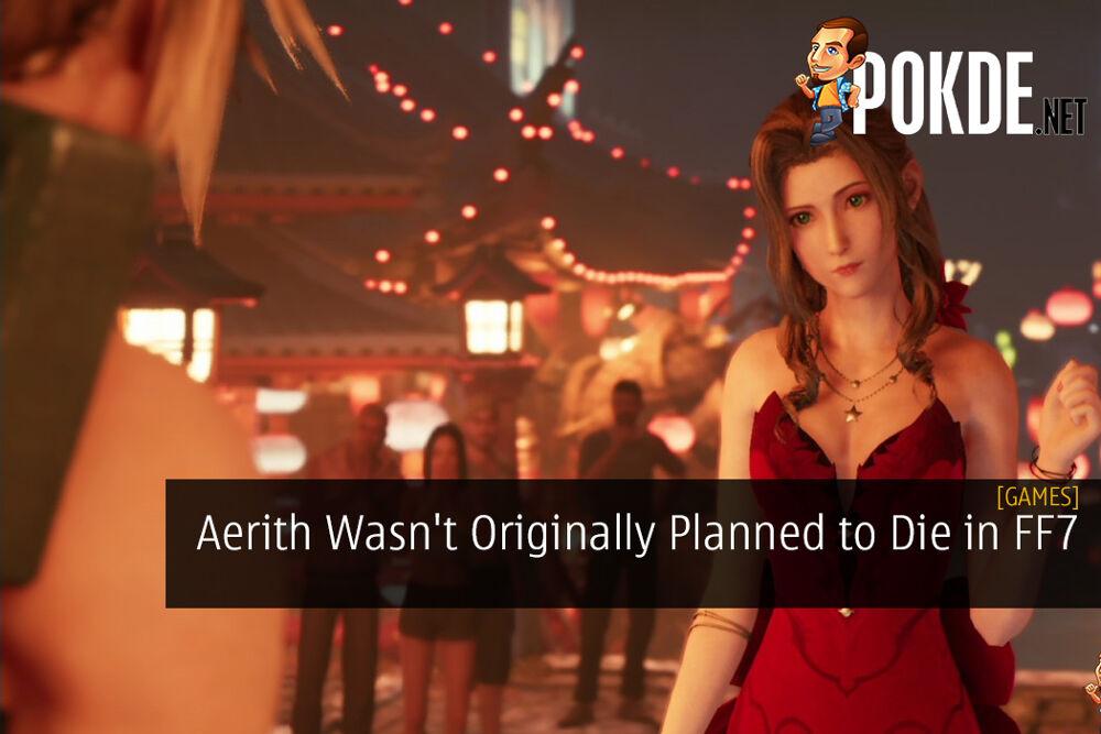 Aerith Wasn't Originally Planned to Die in Final Fantasy 7