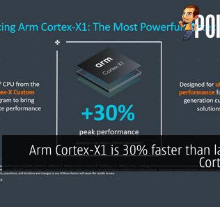 arm cortex x1 faster cortex a77