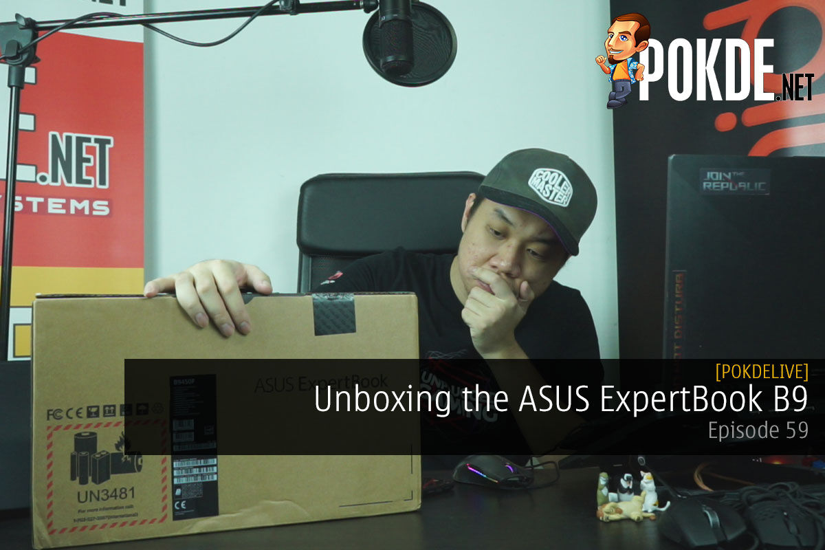 PokdeLIVE 59 — ASUS ExpertBook B9! 12