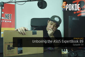 PokdeLIVE 59 — ASUS ExpertBook B9! 34
