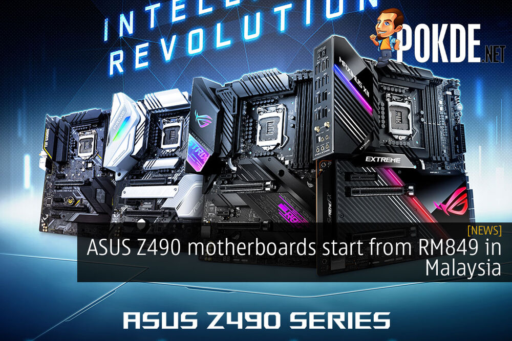 ASUS Z490 motherboards start from RM849 in Malaysia 22