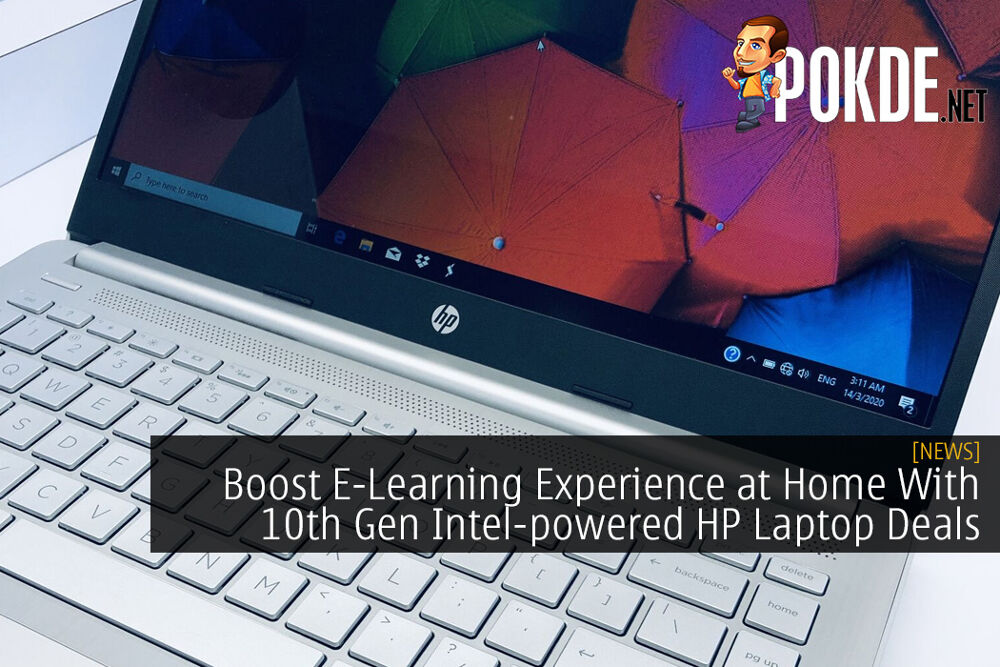 Boost Your E-Learning Experience at Home With These Awesome 10th Gen Intel-powered HP Laptop Deals