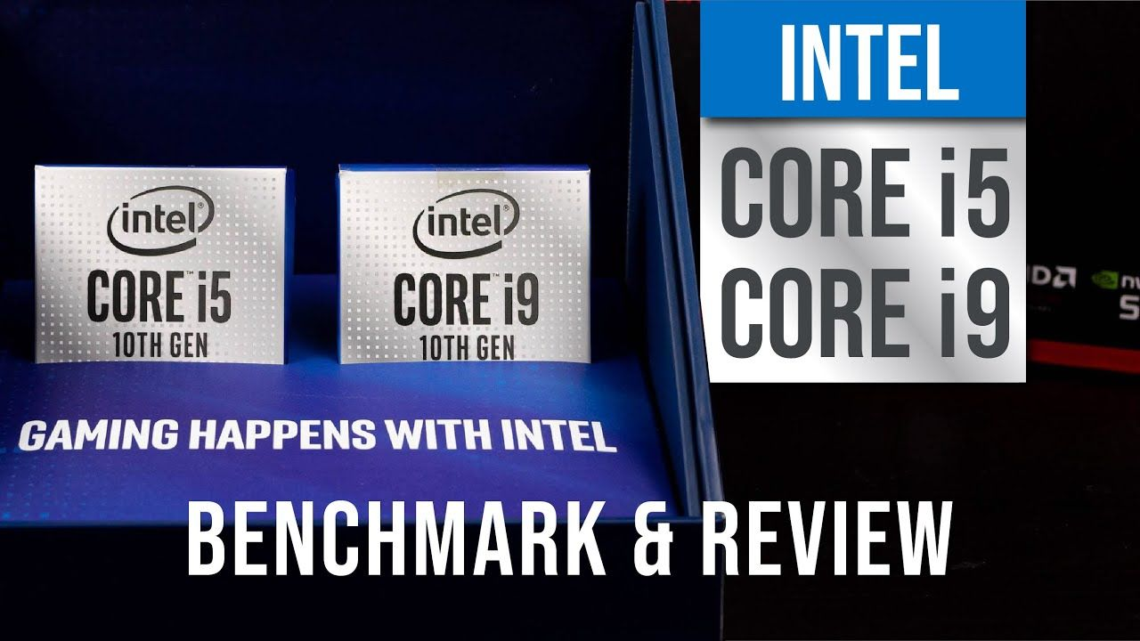 Intel 10th Gen CPU Core i9 10900K & i5 10600K benchmark and reviewed! Faster and more cores! 25
