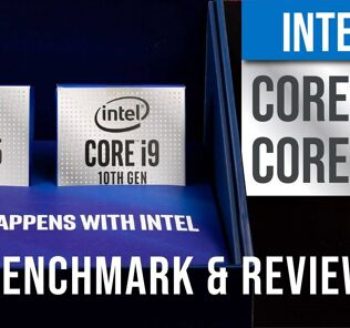 Intel 10th Gen CPU Core i9 10900K & i5 10600K benchmark and reviewed! Faster and more cores! 29