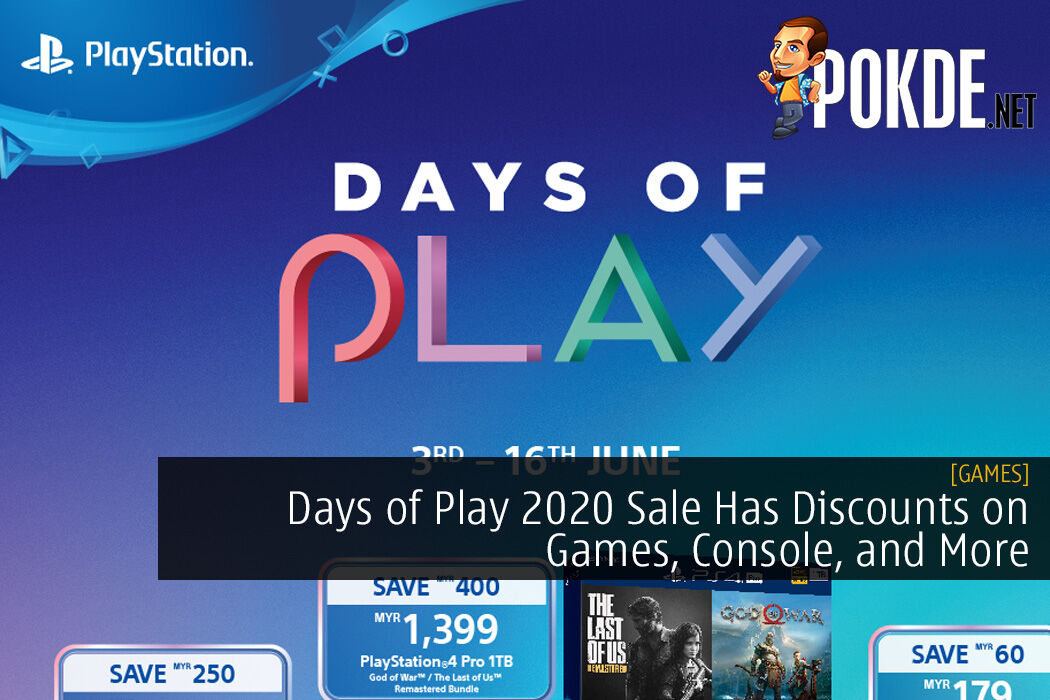 Days of Play 2020 Sale Has Discounts on Games, Console, and More in Malaysia