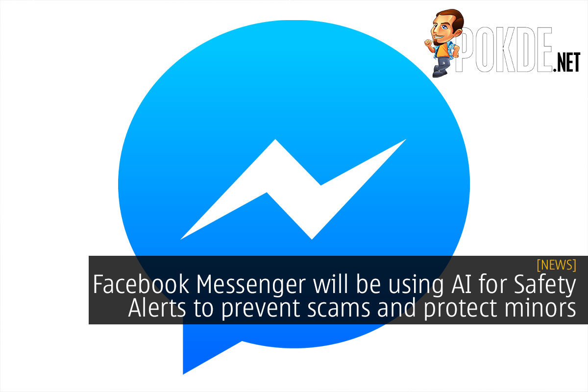 facebook messenger safety alert ai scam minor cover
