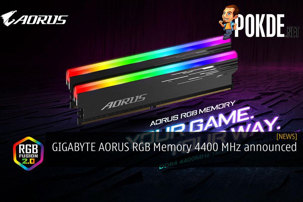 gigabyte aorus memory 4400 mhz cover