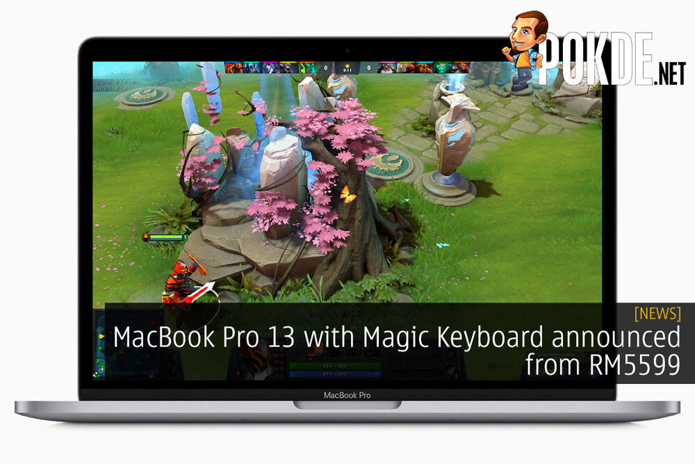 MacBook Pro 13 with Magic Keyboard announced from RM5599 20