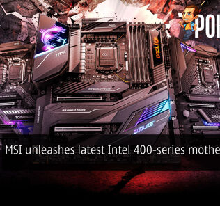 MSI unleashes latest Intel 400-series motherboards 29