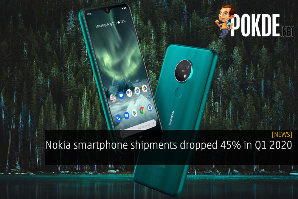 Nokia smartphone shipments dropped 45% in Q1 2020 20