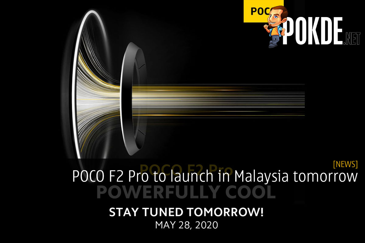 POCO F2 Pro to launch in Malaysia tomorrow 12