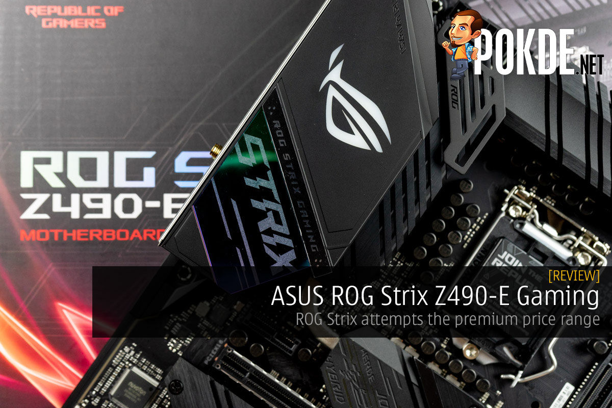 rog strix z490-e gaming review