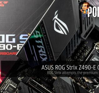 rog strix z490-e gaming review