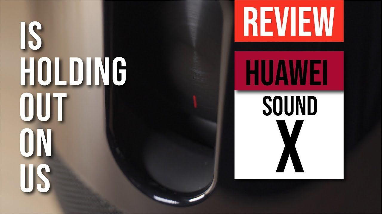 HUAWEI Sound X Review - It's holding back on US! HUAWEI x Devialet co-engineered speaker 24