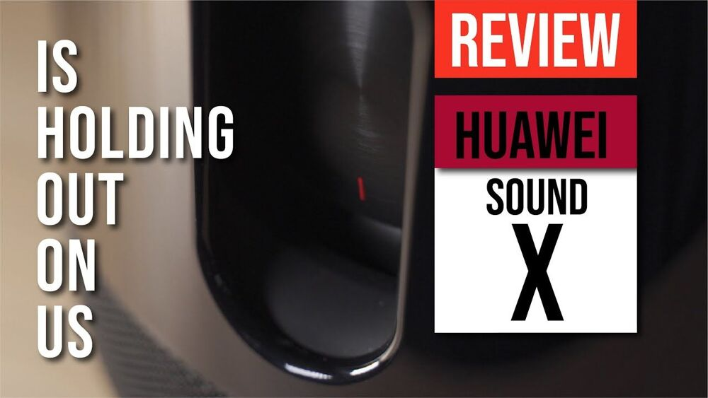 HUAWEI Sound X Review - It's holding back on US! HUAWEI x Devialet co-engineered speaker 19
