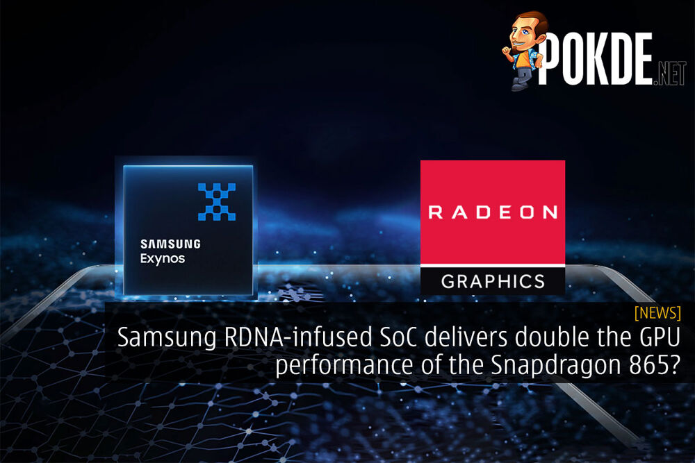 samsung rdna double performance of snapdragon 865