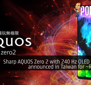 sharp aquos zero 2 240 hz display taiwan cover