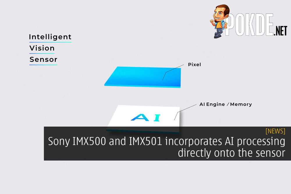 Sony IMX500 and IMX501 incorporates AI processing directly onto the sensor 26