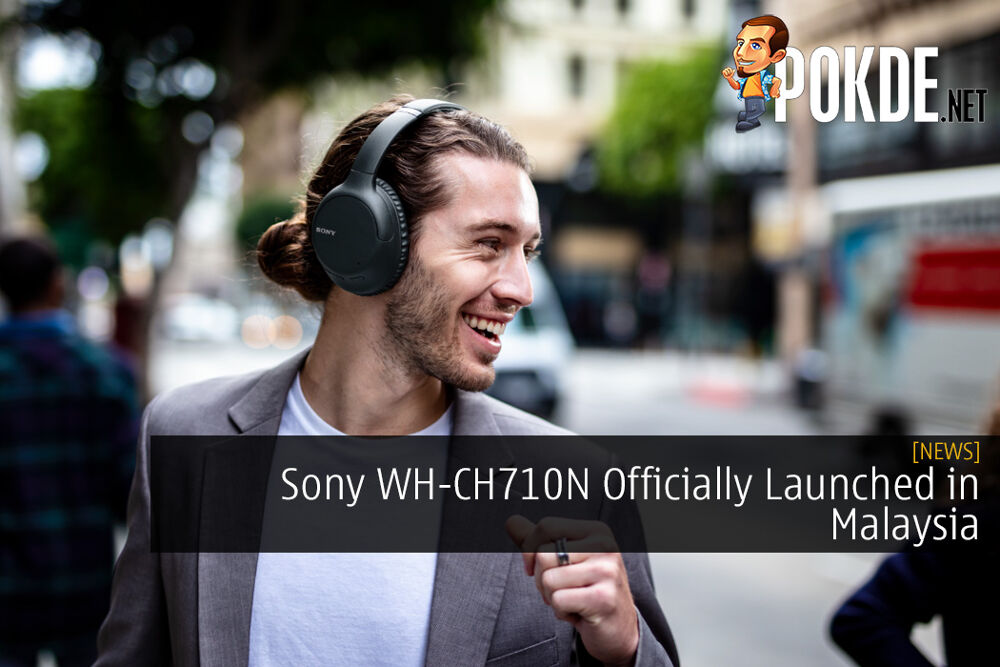 Sony WH-CH710N Wireless Noise Cancelling Headphones Officially Launched in Malaysia