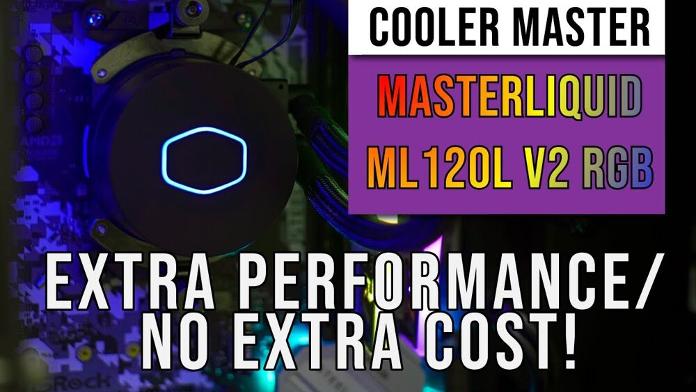 Cooler Master MasterLiquid ML120L V2 RGB AIO Cooler Review — extra performance at no extra cost 22
