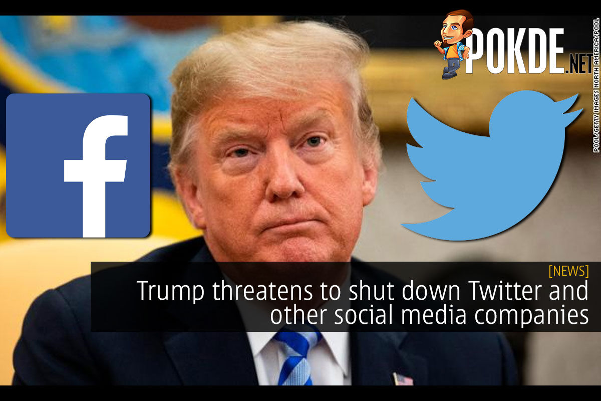 trump shut down twitter social media cover