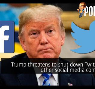 trump shut down twitter social media cover
