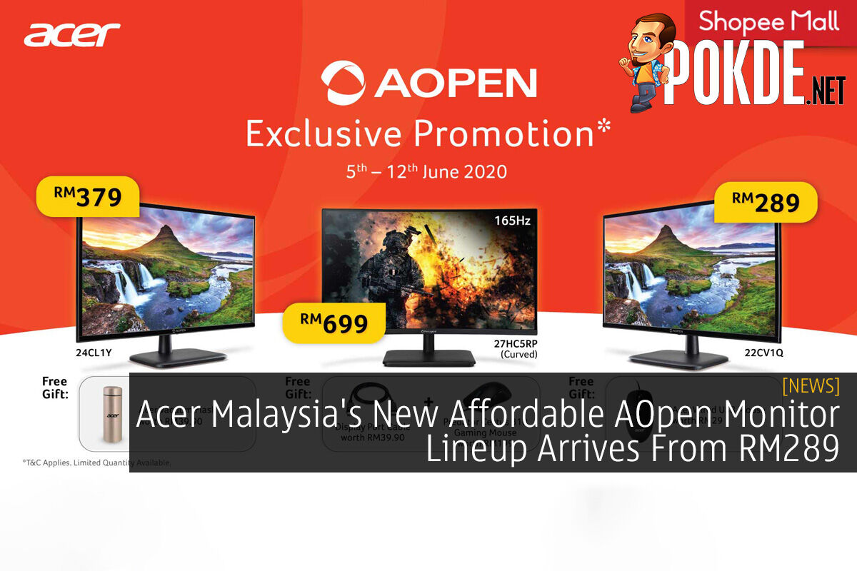 Acer Malaysia's New Affordable AOpen Monitor Lineup Arrives From RM289 8
