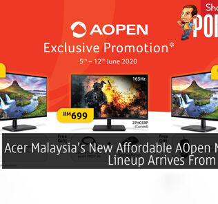 Acer Malaysia's New Affordable AOpen Monitor Lineup Arrives From RM289 32