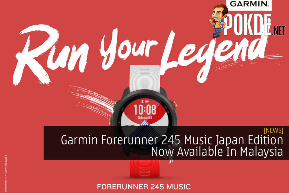 Garmin Forerunner 245 Music Japan Edition Now Available In Malaysia 25
