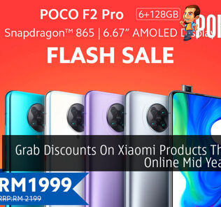Grab Discounts On Xiaomi Products This 6.18 Online Mid Year Sales 20