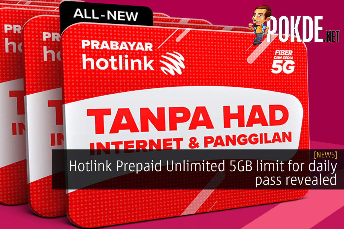Hotlink Prepaid Unlimited fup limit daily pass cover