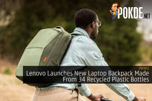 Lenovo Launches New Laptop Backpack Made From 34 Recycled Plastic Bottles 34
