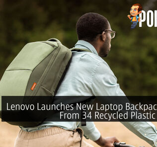 Lenovo Launches New Laptop Backpack Made From 34 Recycled Plastic Bottles 24