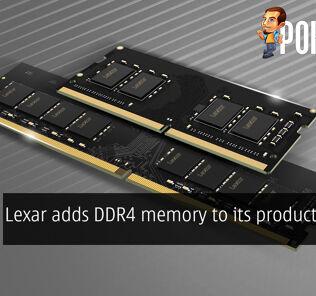 Lexar DDR4 memory cover