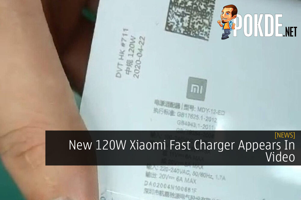 New 120W Xiaomi Fast Charger Appears In Video 20