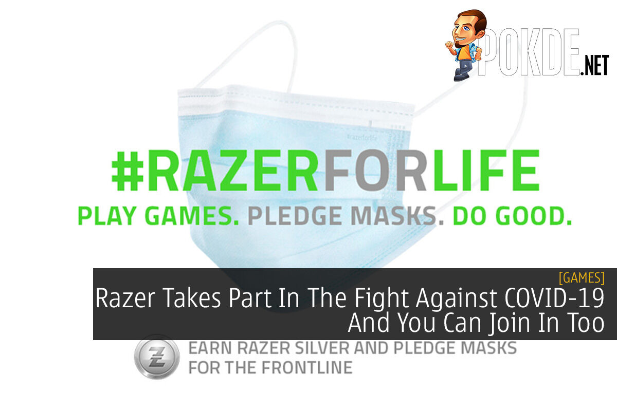 Razer Takes Part In The Fight Against COVID-19 And You Can Join In Too 8