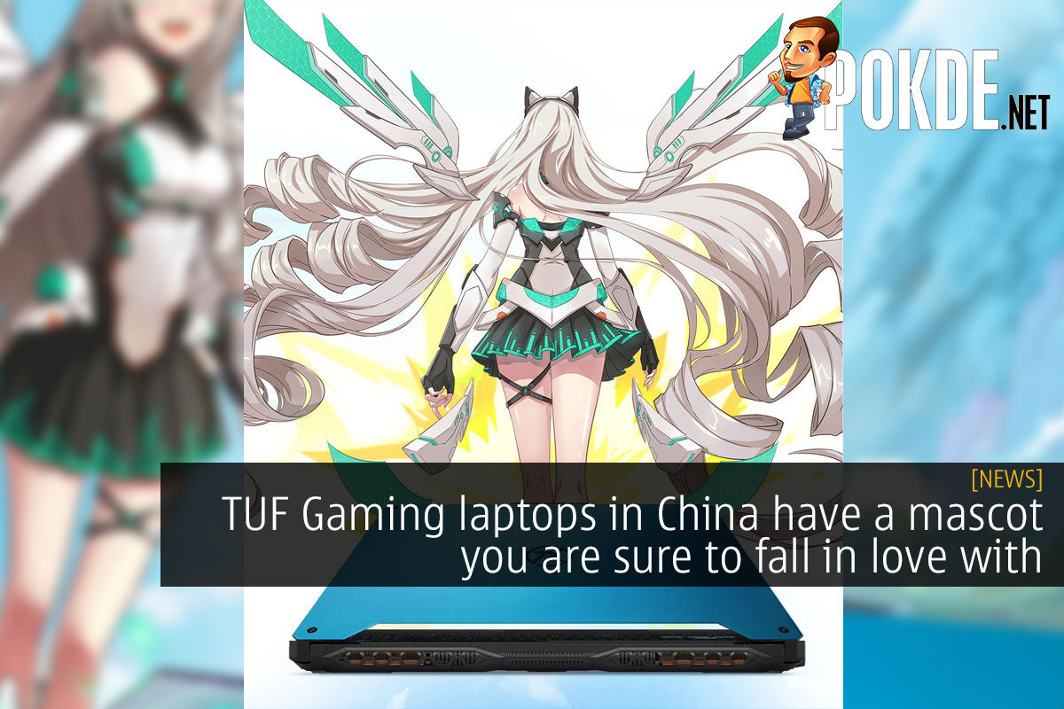 TUF Gaming China mascot cover