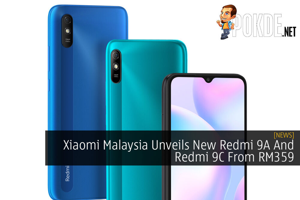 Xiaomi Malaysia Unveils New Redmi 9A And Redmi 9C From RM359 20