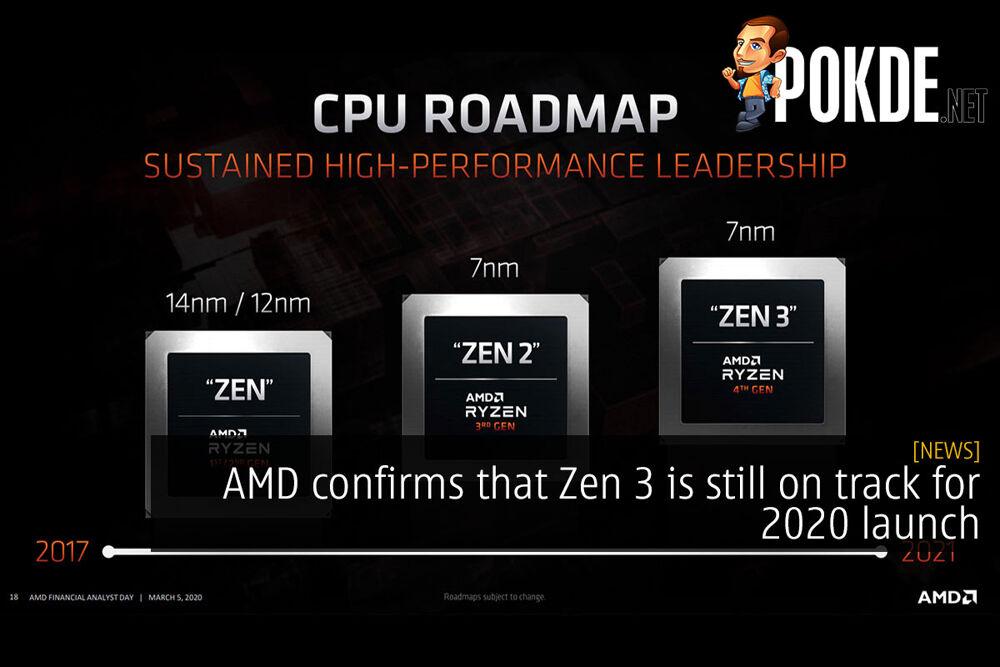 amd zen 3 2020 launch cover