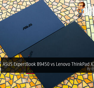 asus expertbook b9 vs lenovo thinkpad x1 carbon cover