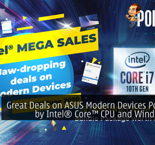Great Deals on ASUS Modern Devices Powered by Intel® Core™ CPU and Windows 10