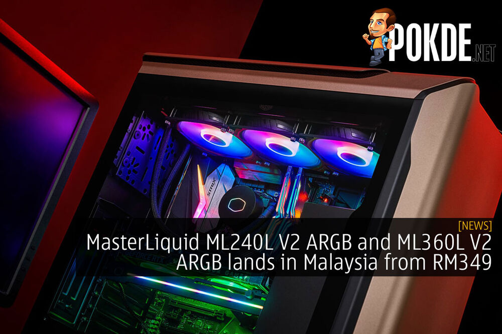 cooler master masterliquid ml240l v2 argb ml360l v2 argb cover