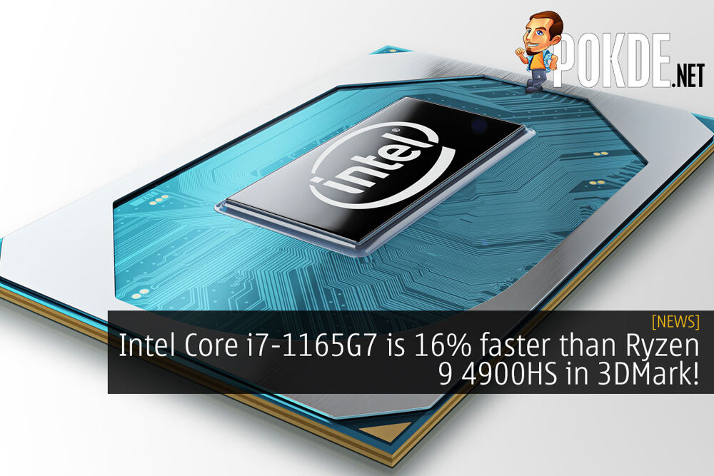 intel core i7-1165g7 faster 3dmark cover