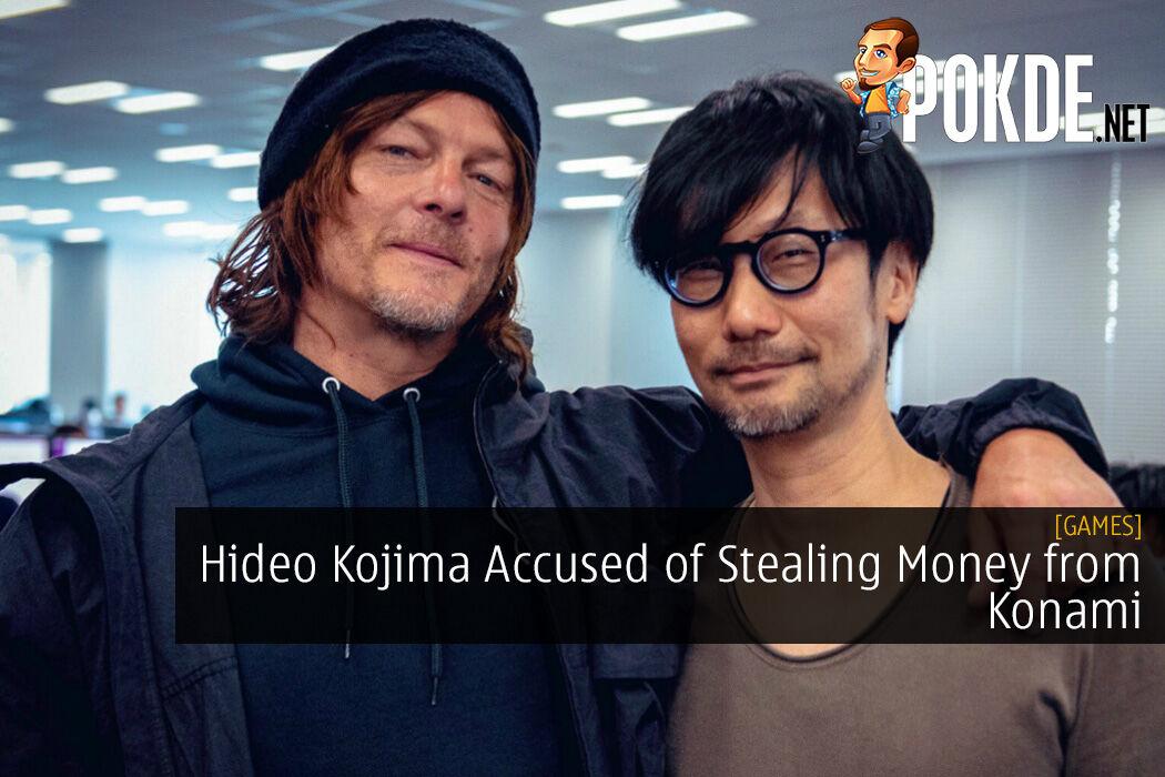 Hideo Kojima Accused of Stealing Money from Konami