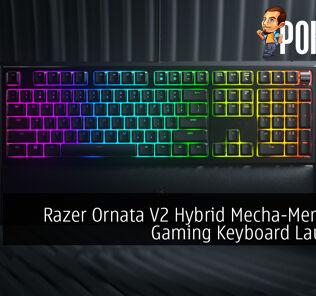 Razer Ornata V2 Hybrid Mecha-Membrane Gaming Keyboard Launched