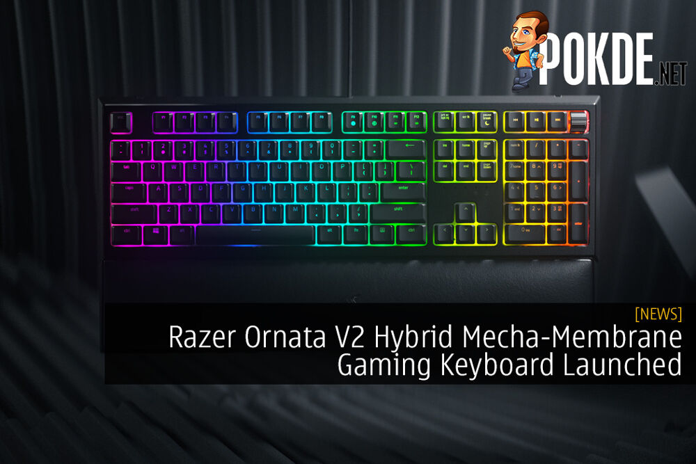 Razer Ornata V2 Hybrid Mecha-Membrane Gaming Keyboard Launched