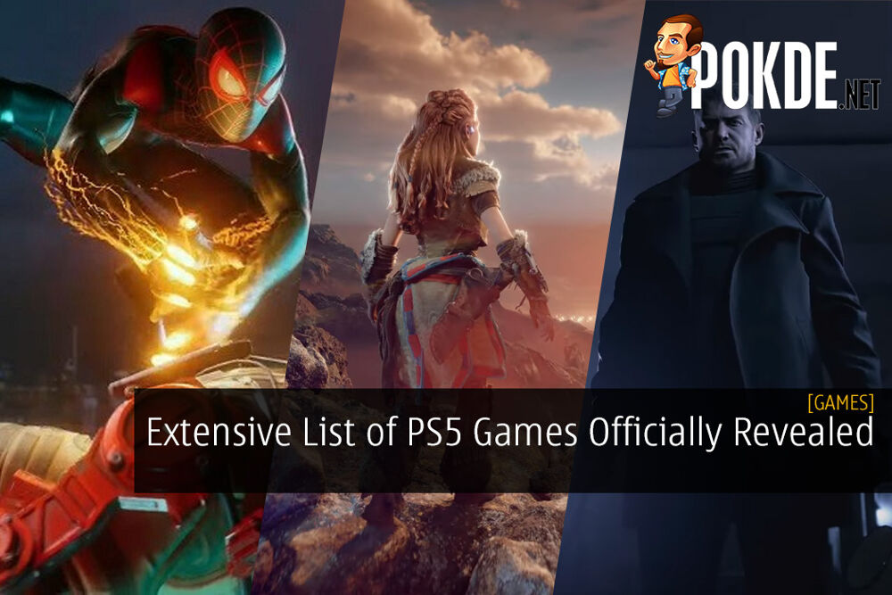 Extensive List of PS5 Games Officially Revealed at the PlayStation Future of Gaming Livestream Event