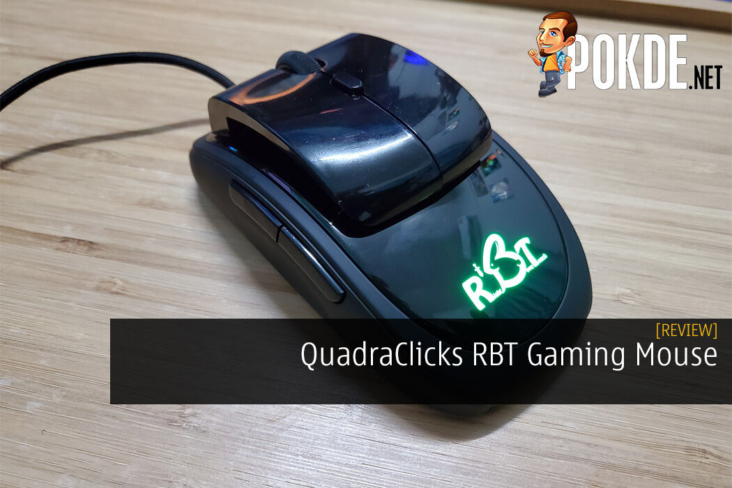 QuadraClicks RBT Gaming Mouse Review - Innovative Approach on RSI and Carpal Tunnel Issues 14
